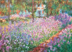EuroGraphics The Artist's Garden by Claude Monet Puzzle. The Artist's Garden in Giverny is of the most famous paintings by Claude Monet. Claude Monet, Garden Painting, Garden Art, Vincent Van Gogh, Framed Art Prints, Painting Prints, Poster Prints, The Artist, Josephine Wall