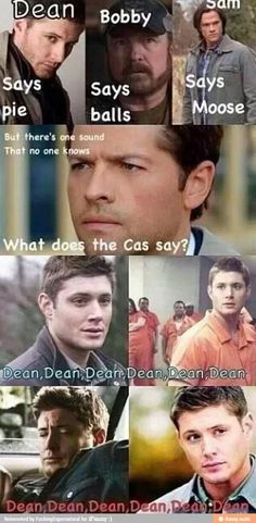 """What does the Cas say?"" Supernatural xD"