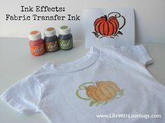 DecoArt Ink Effects - Fabric Transfer Paint: Paint on regular paper and iron onto fabric!