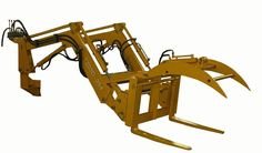 Example grapple for pallet fork
