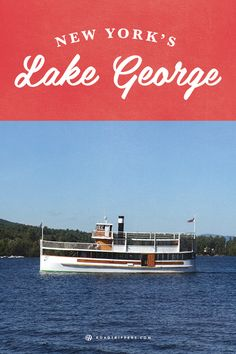 Enjoy yourself at a lakeside town this summer at New York's Lake George. | When staying at Sagamore Resort