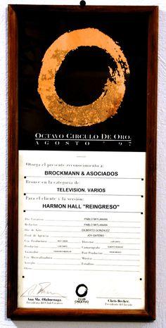 El Circulo creativo es la asociación compuesta por lo creativos publicitarios en México. Une a lo mejor de la creatividad en Publicidad, BTL, Diseño, Producción, etc. Los Creativos deciden premiar a lo que consideran lo mejor de las campañas publicitarias Mexicanas en todos los medios.
