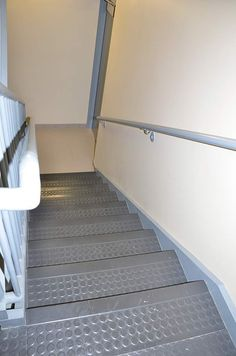 Commercial Stairs By Riemer Floors For Shelton Buick GMC In Rochester  Hills, Mi