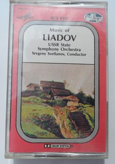 Russian State Symphony Orchestra – Music Of Liadov Label: Allegro – acs 8119 Format: Cassette, Album Country: Canada Released: Genre: Classical Russian Folk Songs, Enchanted Lake, Lp Cover, Conductors, Lps, Orchestra, Musicals