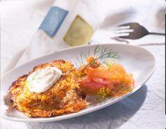 Unser beliebtes Rezept für Sauerkrautpuffer mit Räucherlachs und mehr als 55.000 weitere kostenlose Rezepte auf LECKER.de.