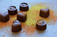 Truffles Chocolate Pralines. Intense and amazing!