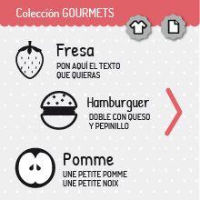 Colección GOURMETS | miomiomio