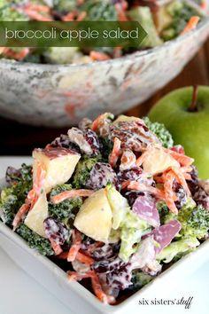 Broccoli Apple Salad | Six Sisters' Stuff