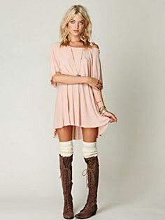 Love it... casual but sexy. Love the thigh high socks xNKx
