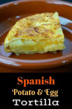 Spanish Tortilla (Tortilla Española) is a deceptively simple potato and egg dish. This is a mini version of the rich and creamy dish eaten any time of day. Spanish Tortilla Recipe, Egg Tortilla, Spanish Recipes, Brunch Recipes, Wine Recipes, Mexican Food Recipes, Breakfast Recipes, Breakfast Ideas, A Food