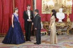 Queen Letizia of Spain Photos - Spanish Royals Host a Dinner for the President of Peru - Zimbio