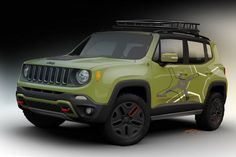 Jeep Renegade up-fitted by Mopar for the North American International Auto Show in Detroit.
