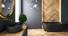 Bagni piccoli: 15 soluzioni per una ristrutturazione moderna! Ispiratevi Houses, Trendy Tree