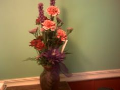 My Flowers From Hubby