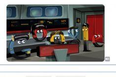 Star Trek: The Original Series Doodle Star Trek 1, Google Doodles, Spock, Logo Google, Art Google, Google News, Google Images, Bing Images, Star Trek Original Series