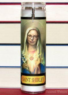 Saint Shirley Jackson Writer's Prayer Candle by SaintedWriters