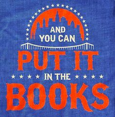 Mets And You Can Put It In The Books