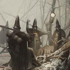 ArtStation - Ash Walkers, First Hunt, Timofey Stepanov