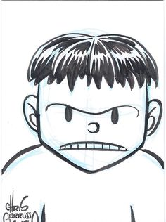 Incredible Hulk sketch card by Chris Giarrusso Hulk Sketch, Comic Art, Comic Books, Incredible Hulk, Marvel Art, Snoopy, The Incredibles, Comics, Anime