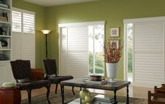 Eclipse Shutters interior plantation shutters are lightweight and UV protected. Including sliding features.