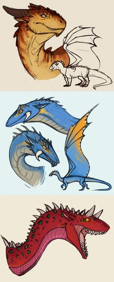 som draggins by annicron on DeviantArt