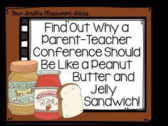 Fern Smith's Classroom Ideas Tuesday Teacher Tips: Parent-Teacher Conferences