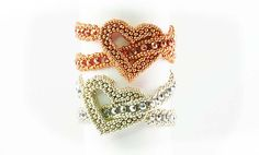 How lucky are we this week? Beautiful wrap around heart bracelet by Helena! The heart shaped focal is perfect for our love themed blog. H...