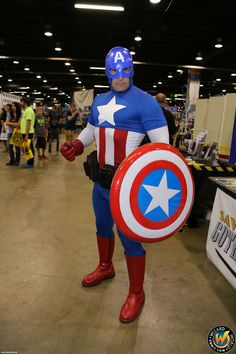 Captain America!  Check out Wizard World Ohio Comic Con Sep 20-22, 2013!! Click http://www.wizardworld.com/home-ohio.html