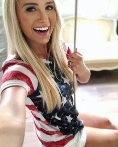 Patriotic Swimwear, Tomi Lahren, Cute White Boys, Funny Faces, Beautiful, Instagram, Women, Stripes, Selfie