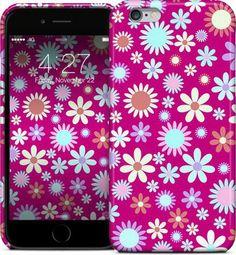 Flowers Fantasy by Elena Indolfi - iPhone Cases & Skins - $35.00