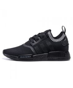 The All-Black Adidas NMD Runner Releases This Spring — Sneaker Shouts Adidas Nmd Noir, Adidas Nmd Pk, Adidas Shoes Nmd, Adidas Boots, Nmd Sneakers, Sneakers Mode, Retro Sneakers, All Black Adidas, All Black Men