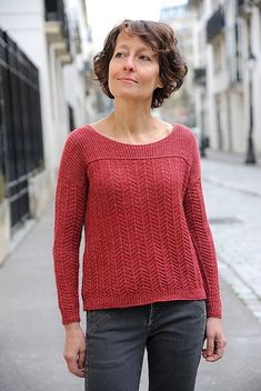 eff97e49 Ravelry: Cullen pattern by Elizabeth Doherty Jumper Knitting Pattern,  Summer Knitting, Jumpers For