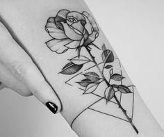 Dream Tattoos, Rose Tattoos, Leg Tattoos, Body Art Tattoos, Tattos, Sleeve Tattoos, Little Tattoos, Small Tattoos, Line Work Tattoo