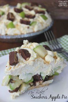 Caramel Apple Pie No Bake Recipe! Easy Dessert Recipe for Fall!