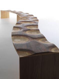 """Ripples """"Like a River"""" / Design: Toyo Ito, 2006"""