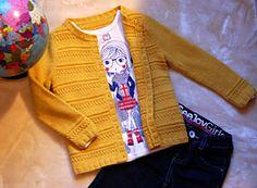 Horizontal jacket by Galina Shemchuk #amidsummerknitsdream #loveknittingcom