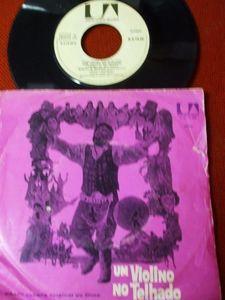 """John Williams (4), Isaac Stern - Banda Sonora Original Do Filme """" Um Violino No Telhado """" (Vinyl 7"""") 1972 Portugal"""