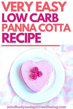 This is one of my most favorite keto desserts which is very easy to make super delicious and a perfect Valentines day dessert idea! This low carb panna cotta recipe is packed with probiotics which help you maintain your gut health but the keto panna cotta Low Carb Desserts, Low Carb Recipes, Dessert Recipes, Custard Desserts, Delicious Desserts, Diabetic Desserts, Healthier Desserts, Brownie Recipes, Dessert Ideas