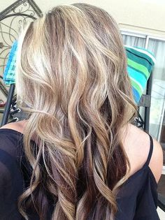 Brown & Blonde Hair -