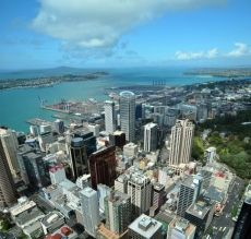 HELICOPTER RIDE OVER AUCKLAND CITY 🚁🌇