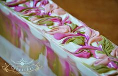 """Zahida from """"Handmade in Florida"""" is a talented soap maker who has won several Great Cakes Soap Challenges. Her artistry and technique serves as inspiration to us other envious soapers."""