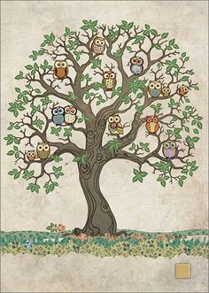 BugArt Paper & Foil ~ Owl Oak. PAPER & FOIL Designed by Jane Crowther.
