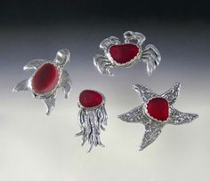 Beautiful silversmith - love the red