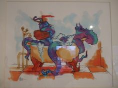 Alex Boucher - Le bain du Kraken (2013) Crayon à mine, art digital, 49 cm x 39cm, Prix: 200$
