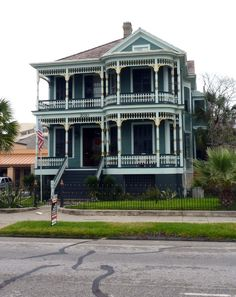 Galveston, TX  historical home. One of many.