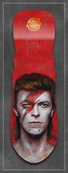 Image of David Bowie Alladin Sane art