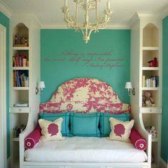 Child's bed room idea! Love sweet romantic chic