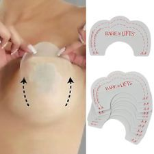 3af8511af134a Invisible Strapless Bra Lift Push-UP Pad Cleavage Enhance Stick Nipple Cover