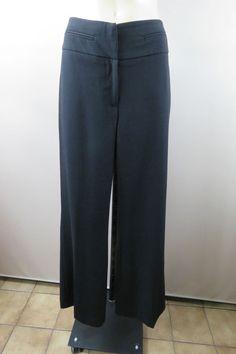 CORPORATE CONFIDENCE Size S 10 Portmans Ladies Black Dress Pants Trousers Office Cocktail Rock Chic Design