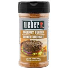 Shop Weber Gourmet Burger Seasoning Blend at Lowe's Canada. Find our selection of sauces & seasoning at the lowest price guaranteed with price match. Burger Seasoning, Dry Rub Recipes, Gourmet Burgers, Kitchen Dining, Sauces, Beef, Garden, Products, Dressing
